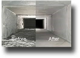 Duct System Before and After Cleaning